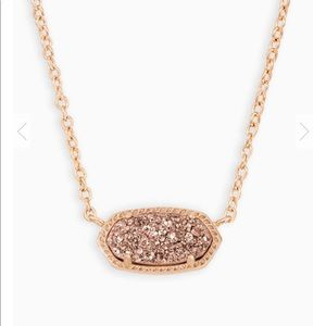 Rose Gold Kendra Pendent